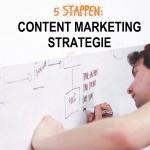 Vijf stappen voor een goede content marketing strategie