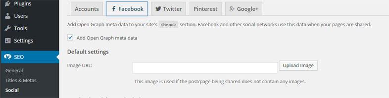 Facebook auteurschap instellen WordPress SEO Yoast
